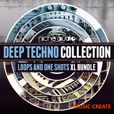 Niche Audio - Deep Techno Collection (MULTiFORMAT) - сэмплы Techno