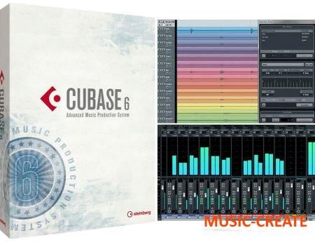 Steinberg - Cubase Artist v6.5.5 x32 x64 Win - виртуальная студия