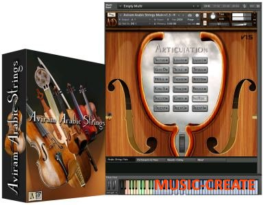 Aviram Dayan Production - Aviram Arabic Strings V1.5 (KONTAKT) - библиотека звуков струнных