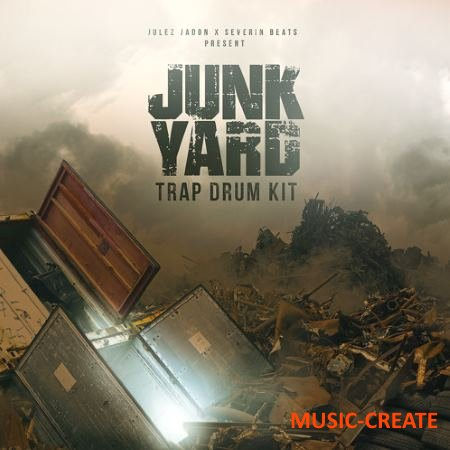 The Producers Choice - Junkyard Trap Drum Kit (WAV) - сэмплы ударных