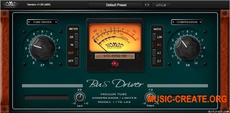 Nomad Factory - Bus Driver v1.0.3 WIN OSX (Team P2P) - плагин оптический компрессор