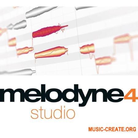 Celemony Melodyne Studio 4 v4.2.3.001 WIN/MacOSX/Portable (TEAM R2R/P2P) - плагин корректор тональности