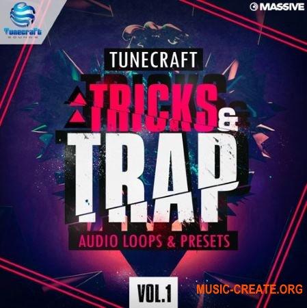 Tunecraft Sounds - Tricks And Trap Vol 1 (WAV MiDi Massive) - сэмплы Trap