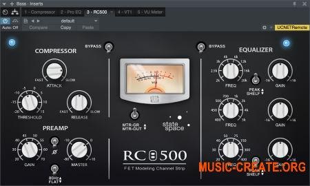PreSonus Channel Strip Collection v1.05.40300 WIN / OSX (Team R2R) для Studio One