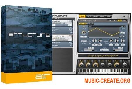 AIR Music Technology - Structure v2.0.7 (Team R2R) - многотембровый инструмент со звуками