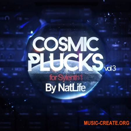 True Trance Recordings - Cosmic Plucks Vol 3 (SYLENTH1 presets)