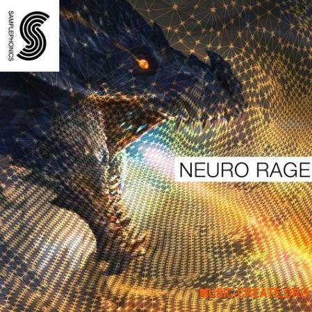 Samplephonics - Neuro Rage (MULTiFORMAT) - сэмплы Neuro, Dubstep, Drum or Bass