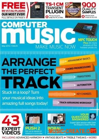 Computer Music - May 2016 (PDF + All Content)