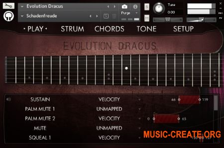 Orange Tree Samples - Evolution Dracus (KONTAKT) - библиотека звуков электрогитары