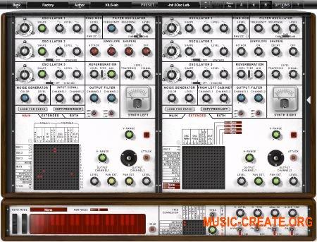 XILS-Lab - XILS4 v1.0.3 AAX VST RTAS CE (Team V.R) - модульный синтезатор
