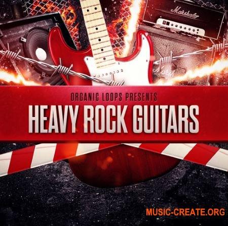 Organic Loops - Heavy Rock Guitars (WAV REX) - сэмплы рок гитар