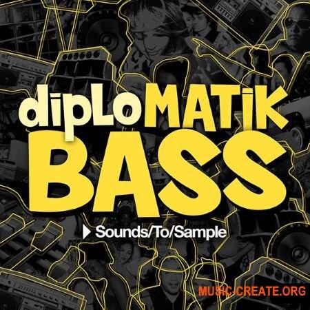 Sounds to Sample - diploMATIK Bass (MULTiFORMAT) - сэмплы Trap, Twerk EDM