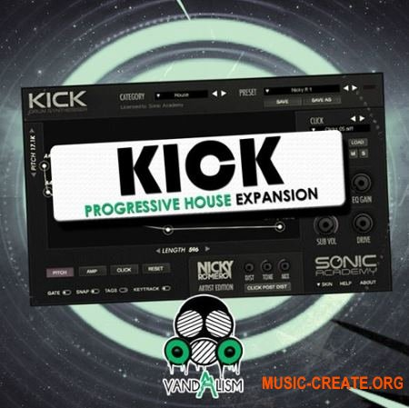 Vandalism - Kick Progressive House Expansion (SONiC ACADEMY KICK)
