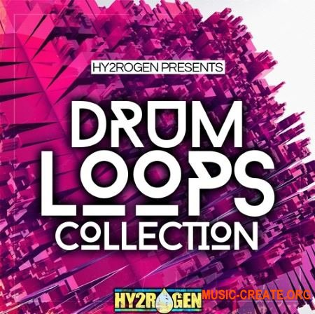 Hy2rogen - Drum Loops Collection (WAV) - сэмплы ударных