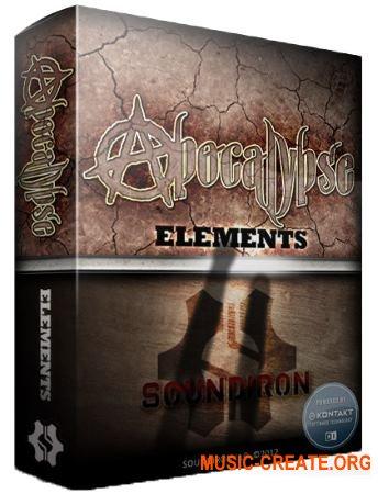 Soundiron - Apocalypse Elements - Player Edition (KONTAKT) - библиотека акустических ударных
