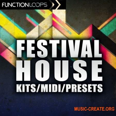 Function Loops - Festival House (WAV MiDi) - сэмплы House
