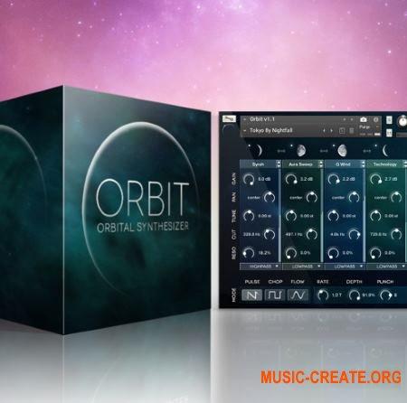 Wide Blue Sound - Orbit V.1.3 (KONTAKT) - звуковые эффекты, кинематографические звуки