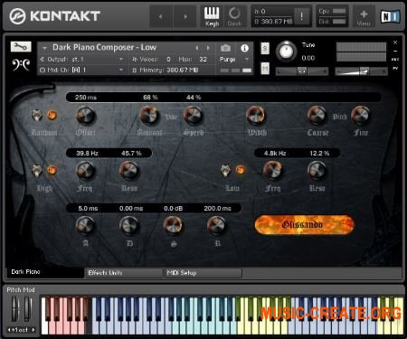 Replika Sound - Dark Piano Composer (KONTAKT) - библиотека кинематографических звуков