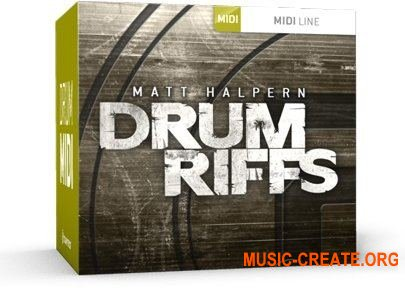 Toontrack - Drum Riffs WiN (MiDi) - для EZdrummer, Superior Drummer
