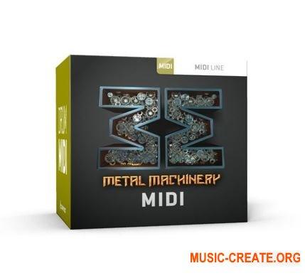 Toontrack - Metal Machinery WiN (MiDi) - для EZdrummer 2, Superior Drummer 2