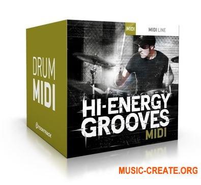 Toontrack - Hi-Energy Grooves WiN (MiDi) - для EZdrummer 2, Superior Drummer 2