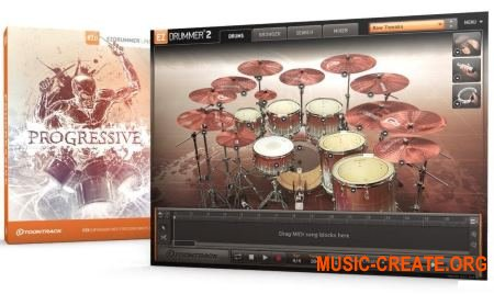 ToonTrack - Progressive EZX WiN EXPANSiON - для EZdrummer 2