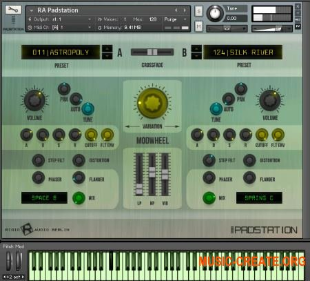 Rigid Audio - PADSTATION (KONTAKT) - библиотека падов