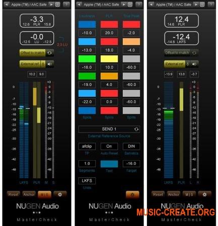 NuGen Audio - MasterCheck v1.1.08 WIN OSX - плагин аудио эффект