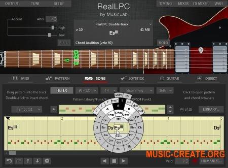 MusicLab - RealLPC v4.0.0.7239 WiN/MAC (Team R2R) - виртуальная гитара vst