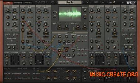 U-HE - Bazille CM EDITION WIN MAC - синтезатор