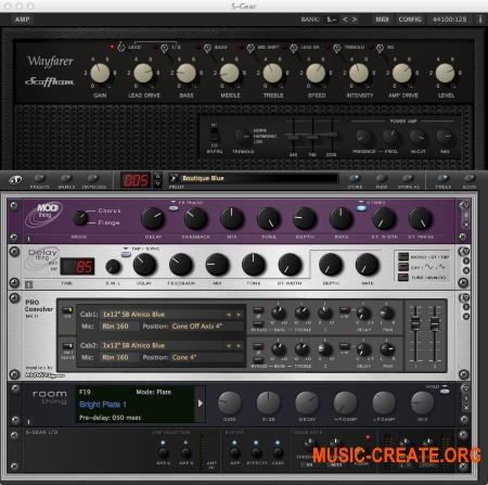 Scuffham - Amps S-GEAR v2.6.0 Working (Team R2R) - гитарный усилитель