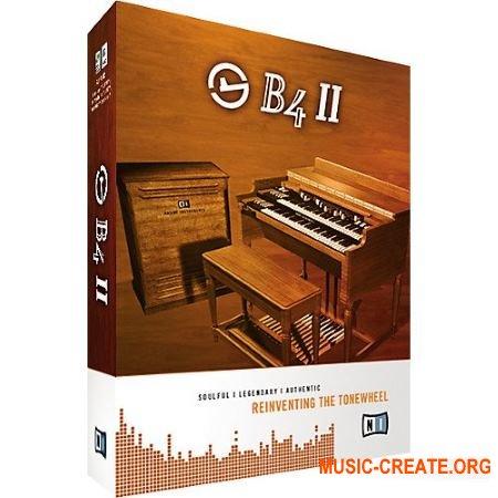 Native Instruments - B4 II v2.0.4 INTERNAL (Team R2R) - эмуляция органа Hammond B3