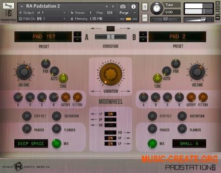Rigid Audio - Padstation Vol.2 (KONTAKT) - библиотека падов