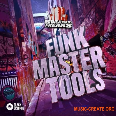 Black Octopus Sound - Funk Master Tools By Basement Freaks (WAV NATiVE iNSTRUMENTS BATTERY) - сэмплы Funk, Blues