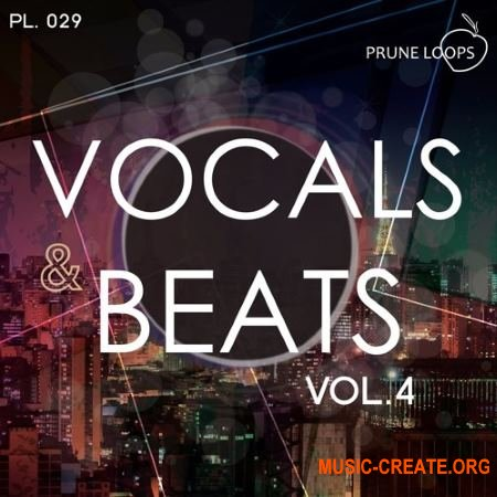 Prune Loops - Vocals And Beats Vol 4 (WAV MiDi) - вокальные сэмплы