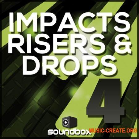 Soundbox - Impacts, Risers and Drops 4 (WAV) - звуковые эффекты