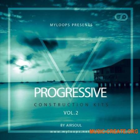 Myloops Airsoul - Progressive Construction Kits Vol. 2 (WAV MiDi) - сэмплы progressive trance, progressive house