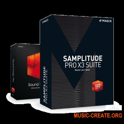 MAGIX Samplitude Pro X3 Suite v14.4.0.518 (Team P2P) - секвенсор / мультитрек