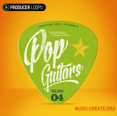Producer Loops - Pop Guitars Vol 4 (WAV MiDi) - сэмплы гитары