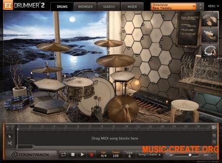 Toontrack - EZX2 Dream Pop v1.0.0 HYBRID (Team R2R) - для EZdrummer 2