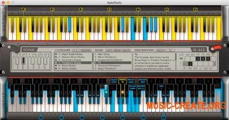 AutoTonic v1.4.212.0 Patched WiN (Team P2P) - MIDI транспортер