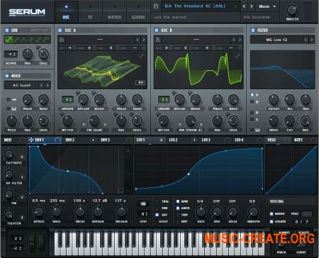 Xfer Records - Serum 1.11 b3 (FIXED) VSTi x86x64 (NO INSTALL) - синтезатор