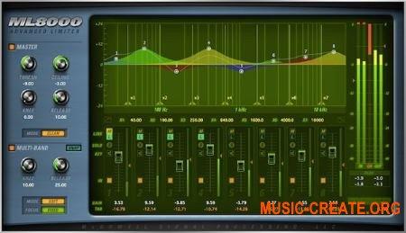 McDSP - ML8000 Advanced Limiter v6.3.0.5 WIN (Team AudioUTOPiA) - плагин лимитер