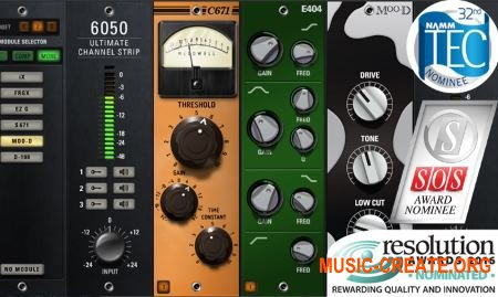 McDSP - 6050 Ultimate Channel Strip v6.2.0.10 WiN (Tam AudioUTOPiA) - сборка плагинов