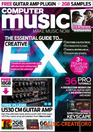 Computer Music - December 2016 (PDF + All Content)