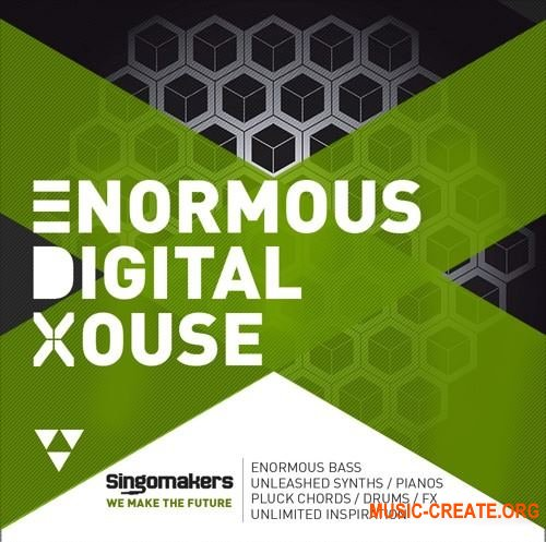 Singomakers Enormous Digital House (MULTiFORMAT) - сэмплы EDM