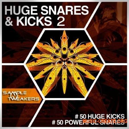 Sample Tweakers Huge Snares And Kicks Vol 2 (WAV) - сэмплы бас-барабанов, снейров