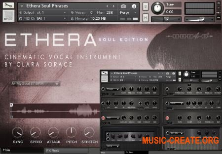 Zero-G ETHERA Soul Edition (KONTAKT) - библиотека вокала
