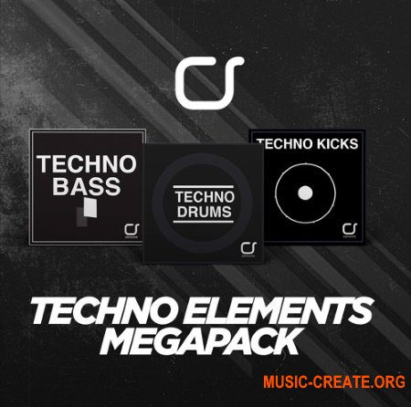 Cognition Strings Techno Elements Megapack (WAV) - сэмплы Techno, Tech House