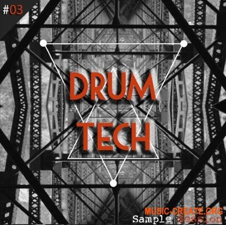 Sample Session Drum Tech (WAV) - сэмплы ударных для Techno, Minimal, Deep House